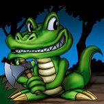 Toon Alligator
