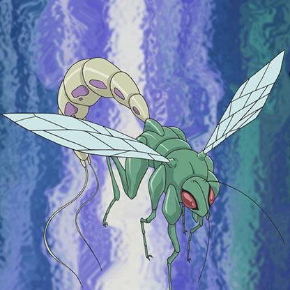 Pheromone-wasp