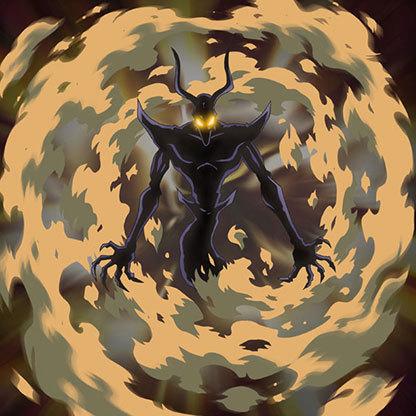 Aetonyx-flame