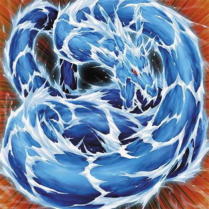 Dragon Contracting Magic Water-Dragon