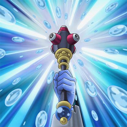 Bubble-rod