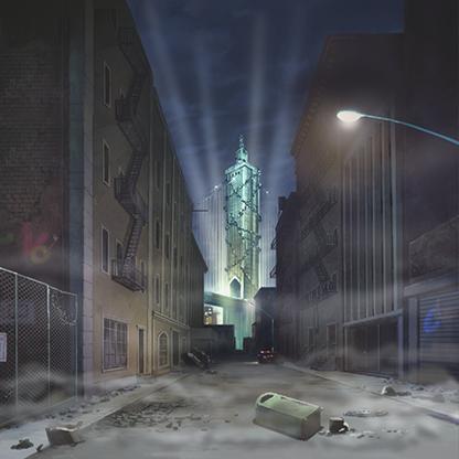 Dark-town's-prison-tower