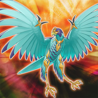 Heraldic-beast-bernard's-falcon
